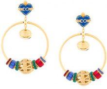 Dolce & Gabbana - Orecchini 'Sacred Heart' - women - Crystal/Brass/Enamel/glass - OS - MULTICOLOUR