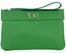 Tod's - medium pouch - women - Calf Leather - OS - GREEN