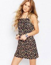 Glamorous - Vestito scamiciato con stampa cachemire floreale