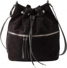 Borsa a sacchetto con tasca esterna