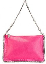 Stella McCartney - Borsa clutch 'Falabella' - women - Artificial Leather - One Size - PINK & PURPLE