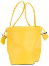 Paco Rabanne - Borsa Clutch a forma di P - women - Polyurethane - One Size - YELLOW & ORANGE