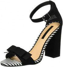 Miss KGFlounce - Scarpe con Tacco Donna, Nero (Nero), 35.5