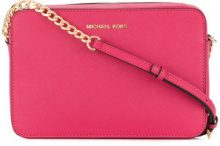 Michael Michael Kors - Jet Set crossbody bag - women - Leather - One Size - PINK & PURPLE