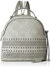 Bulaggi Soutine Backpack - Borse a zainetto Donna, Grau (Hell Grau), 13x28x28 cm (B x H T)