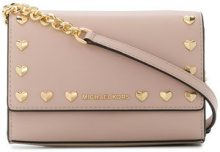 Michael Michael Kors - Ruby crossbody bag - women - Calf Leather - One Size - PINK & PURPLE