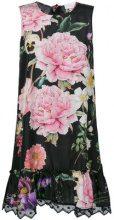 P.A.R.O.S.H. - Tubino con stampa a fiori - women - Silk/Cotton/Polyester - XS - MULTICOLOUR