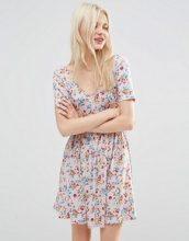 ASOS - Vestito da giorno con graziosa stampa floreale