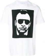 Neil Barrett - T-shirt con stampa grafica - men - Cotton - S, M, L, XL, XXL, XS, XXS - WHITE