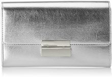 ESPRIT 028ea1o014 - Pochette da giorno Donna, Argento (Silver), 3x13x22 cm (B x H T)