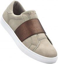 Sneaker con fascia elastica (Beige) - John Baner JEANSWEAR