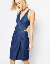 Dr Denim - Agata - Vestito di jeans con cut-out