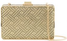 Michael Michael Kors - Borsa Clutch 'Elsie' - women - Leather - OS - METALLIC