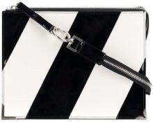 Maison Margiela - mirrored clutch - women - Calf Leather - OS - METALLIC