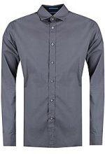 Long Sleeve Micro Print Shirt