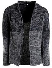 Ombre Hooded Cardigan