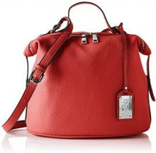 Buffalo BAG S017-167A Leather PU, Borse a Tracolla Donna, Rosso (RED), 17x38x29 cm (B x H x T)
