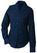 James & Nicholson Ladies' Promotion, Camicia Donna, Blu (Navy), 38 (Taglia Produttore: L)