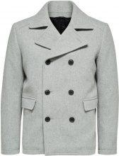 SELECTED Wool - Coat Men Grey
