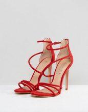 Office - Harness - Sandali con tacco - Rosso