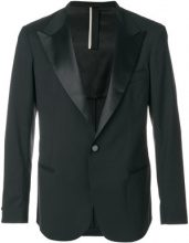 Low Brand - dinner jacket - men - Polyester/Spandex/Elastane/Viscose/Virgin Wool - 4 - BLACK