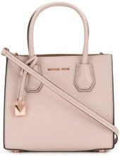 Michael Michael Kors - Mercer tote - women - Leather - OS - PINK & PURPLE