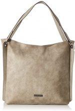 Tamaris Giusy Shoulder Bag - Borse a spalla Donna, Beige (Pepper Comb), 34x13x34.5 cm (B x H T)