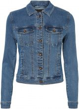 VERO MODA Short Denim Jacket Women Blue