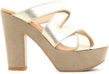 Sandali Grace Shoes  P219TC Sandalo tacco Donna Oro