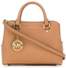 Michael Michael Kors - Savanna small satchel - women - Leather - OS - Marrone