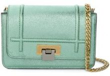 Visone - Borsa a spalla 'Lizzy' - women - Leather - OS - Verde