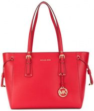 Michael Michael Kors - Voyager tote - women - Leather - OS - RED