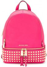 Michael Michael Kors - Rhea large backpack - women - Leather - One Size - PINK & PURPLE
