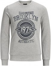 PRODUKT Printed Sweatshirt Men Grey