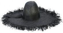 Gigi Burris Millinery - Ete woven hat - women - Raffia - OS - Nero
