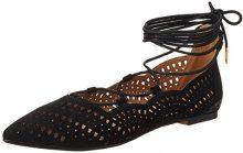 Buffalo Shoes 327909 Bhwmd A350# Imi Sue, Sandali con Zeppa Donna, Nero (Black 01), 39 EU