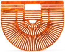 Cult Gaia - Clutch 'Ark' - women - Acrylic - One Size - YELLOW & ORANGE
