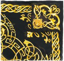 Versace - Foulard 'Celtic Baroque Medusa' - women - Silk - OS - BLACK