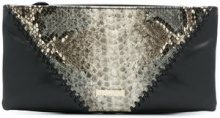 Just Cavalli - Borsa clutch - women - Leather/PVC - OS - BLACK