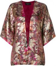 Etro - floral print jacket - women - Silk/Polyester/Cupro - One Size - MULTICOLOUR