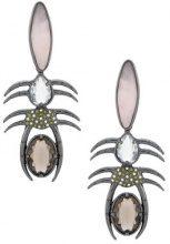 Camila Klein - Millipede earrings - women - metal - OS - METALLIC