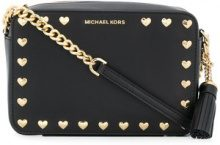 Michael Michael Kors - Borsa a tracolla - women - Leather - One Size - BLACK