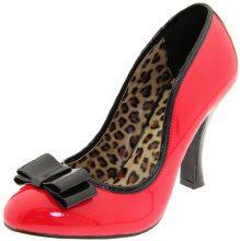 Pleaser Smitten-01 Scarpe con Tacco Donna, Rosso (Red-Blk Patent), 39 EU (6 UK)