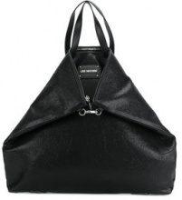 Love Moschino - Transformable shopping bag - women - Polyurethane - OS - BLACK