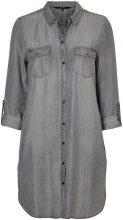 VERO MODA Shirt Dress Women Grey