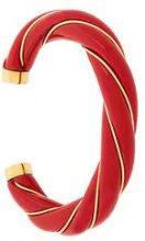 Aurelie Bidermann - Braccialetto 'Diana' - women - Gold Plated Brass - OS - RED