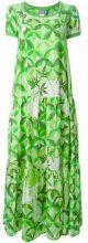 - Walter Van Beirendonck Vintage - 'Hi - Sci - Fi' flared dress - women - Silk - S - Verde