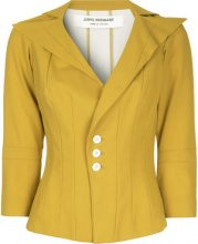 Junya Watanabe Comme Des Garçons Vintage - Blazer con collo oversize - women - Wool/Nylon - OS - YELLOW & ORANGE