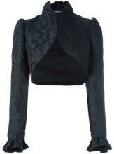 Dolce & Gabbana - jacquard bolero - women - Silk/Polyester/Acrylic - 42 - BLACK