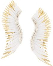 Mignonne Gavigan - wing earring - women - Acetate - OS - WHITE